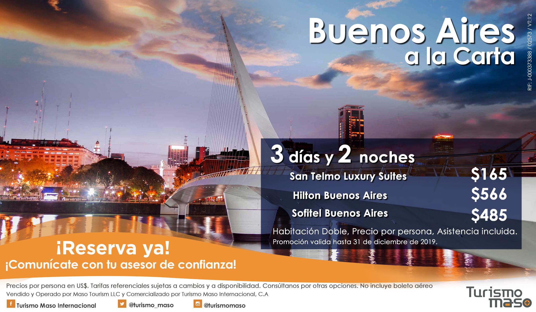 Flyer Buenos Aires Mes Tematico TMI