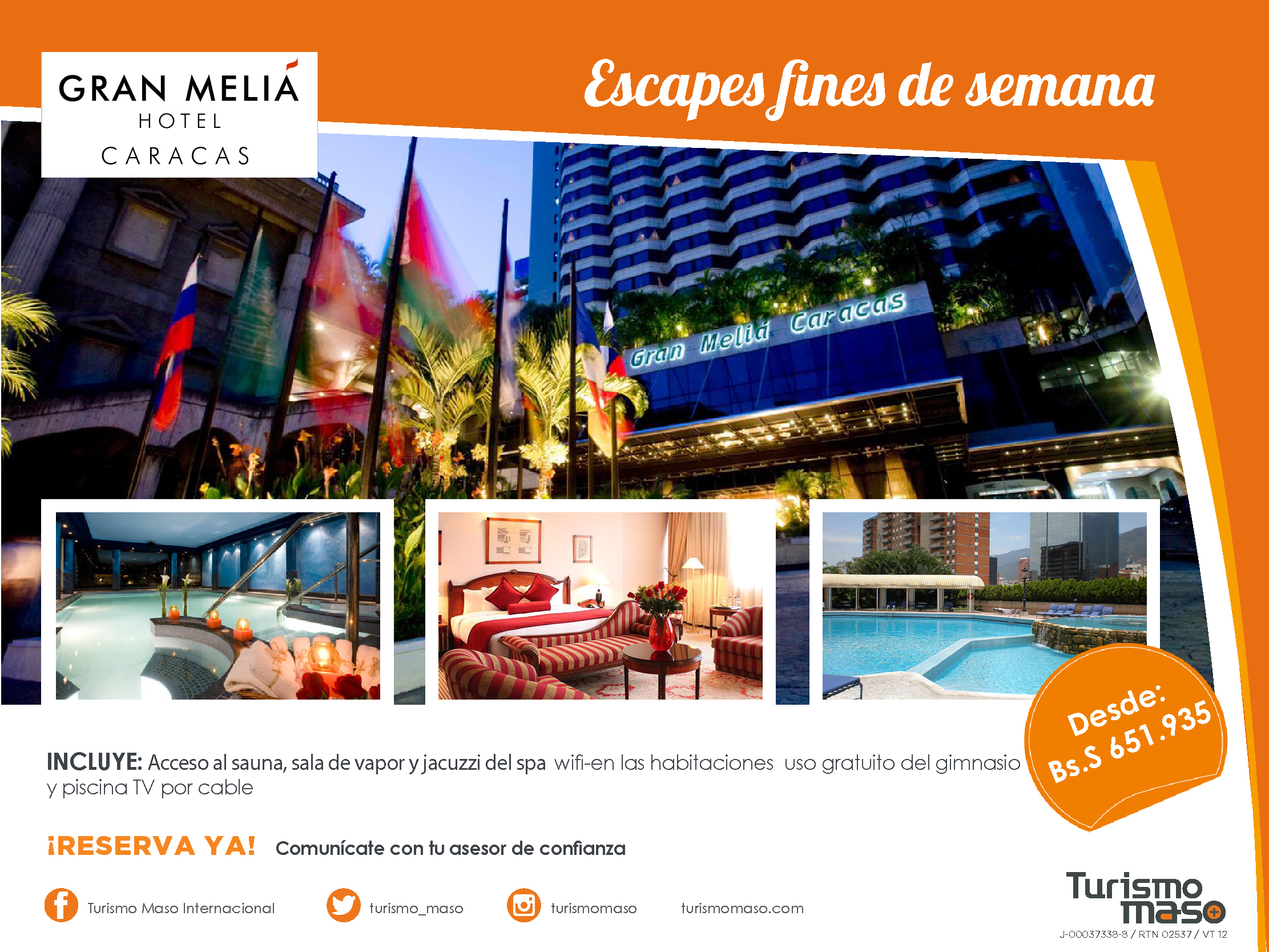 escapes Gran Melia