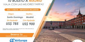 Tu Boleto a Madrid