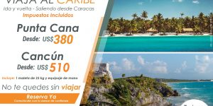Viaja al Caribe
